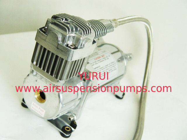 Chrome Remote Air Filter Air Bag Air Ride Suspension Compressor Pump150psi 1 Year Warranty