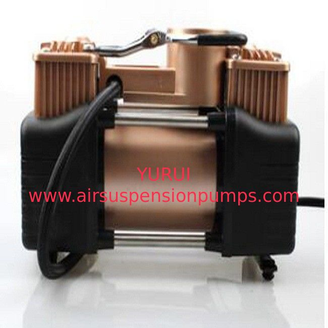 Gold Car Air Compressor 12v Dc , 150psi Auto Air Compressor Portable