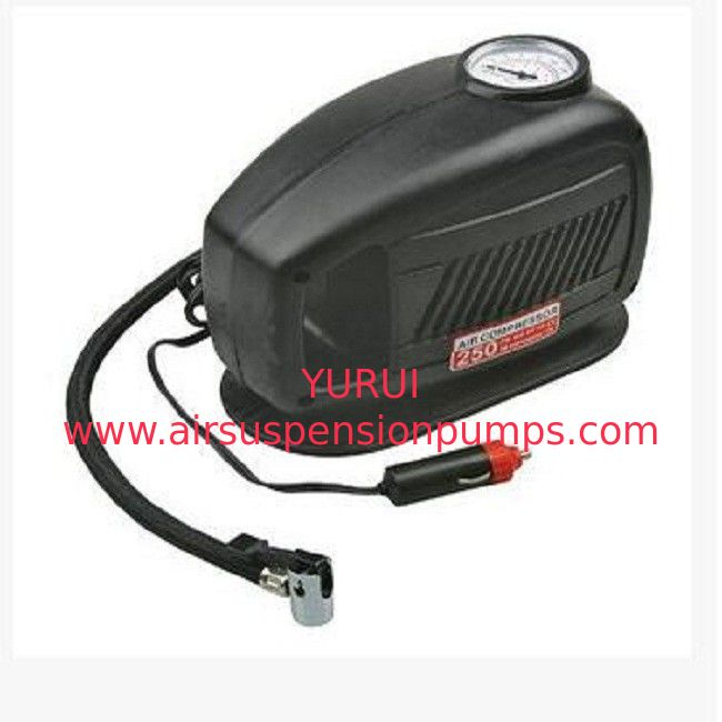 250psi Electric Car Air Compressor 10ft Cord With Cigarette Lighter Plug  Auto Air Compressor