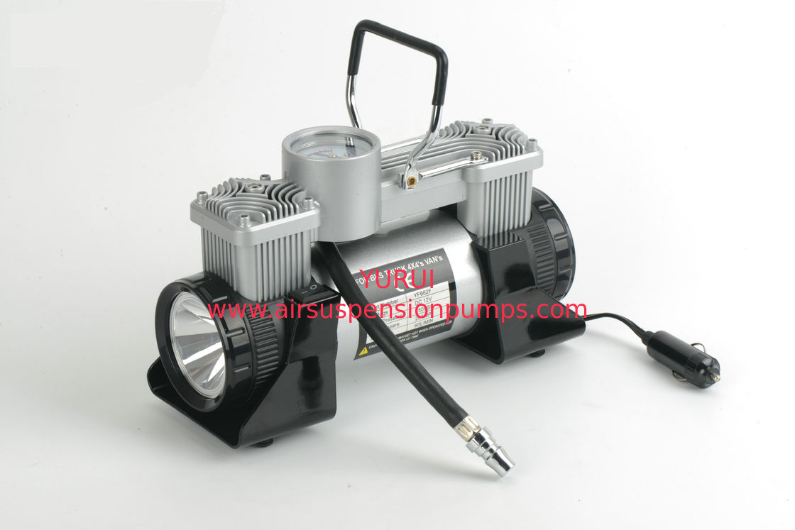 12v 180w 150psi Portable Car Air Conpressor  Metal Tyre Pump With Light
