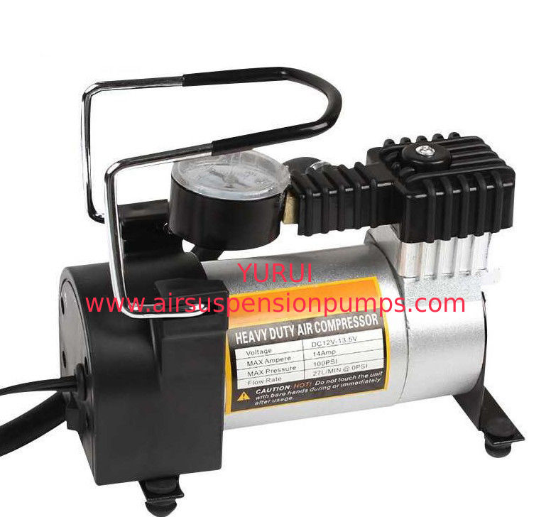 Mini Small Metal Air Compressor 140PSI  With Watch Provide OEM Service