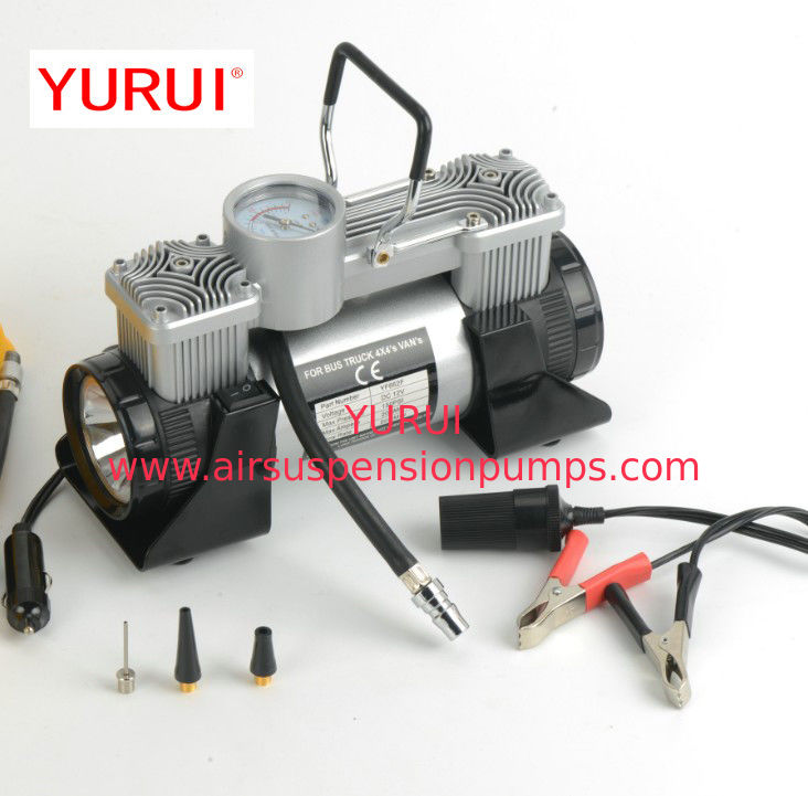 Double Cylinder Metal Air Compressor Plastic Box With High Power Pressure