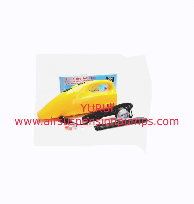 0.9 Kgs Plastic Handheld Car Vacuum Cleaner With Wet And Dry Function
