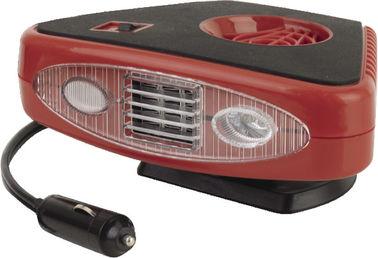 Calefatores portáteis vermelhos e pretos 2 do triângulo do carro em 1 útil para Vhicle