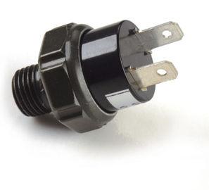 Encaixes pneumáticos pretos da bomba de ar/interruptor de pressão plástico do compressor de ar 12v