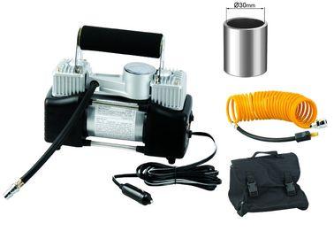 Portátil Medidor Yurui Metal 2 cilindro de ar Compressor Kit Mangueira Bag